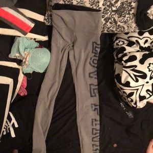 Athletic/yogo leggings from pink Victoria secret